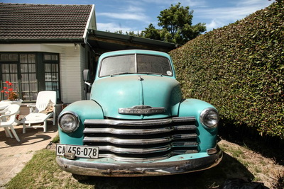 Chevy Pickup 1948 Blue AS-3