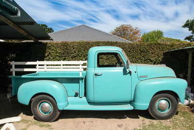 Chevy Pickup 1948 Blue AS-4