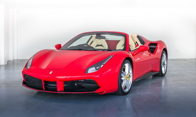Ferrari 488 Spider 2018 Red AS-8