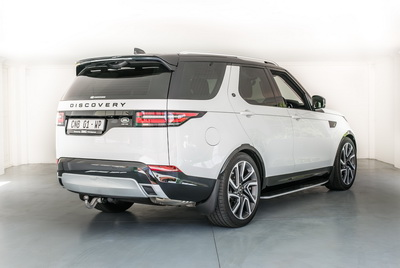 Land Rover Discovery 2018 White AS-1