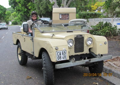 Land Rover Series 1 1957, Topless
