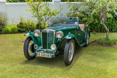 MG TC 1947 Green Cabriolet AS 2018- 1