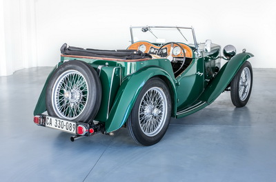 MG TC 1947 Green Cabriolet AS 2018- 2