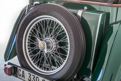 MG TC 1947 Green Cabriolet AS 2018- 5