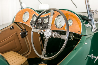 MG TC 1947 Green Cabriolet AS 2018- 6