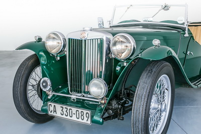 MG TC 1947 Green Cabriolet AS 2018- 7