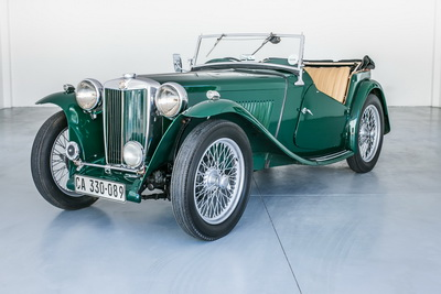 MG TC 1947 Green Cabriolet AS 2018- 8