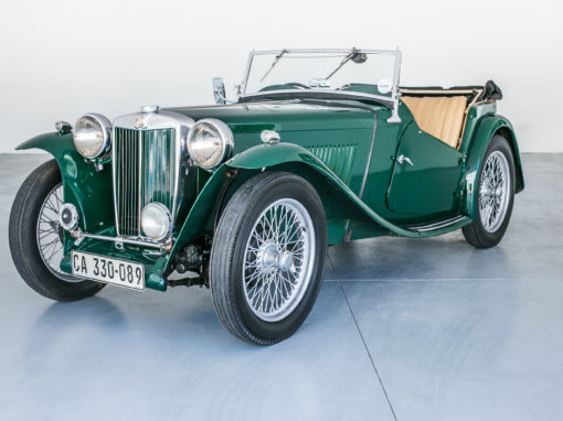 MG TC 1947 Cabriolet