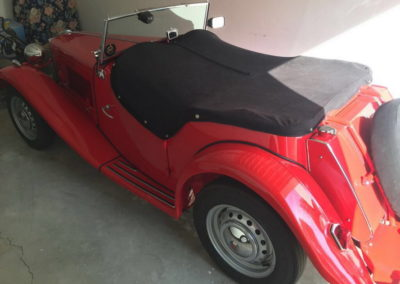 MG TD 1950 Convertible Red AS-1