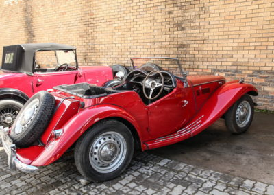 MG TF 1955 Convertible Red AS-2