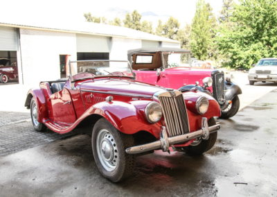 MG TF 1955 Convertible Red AS-3