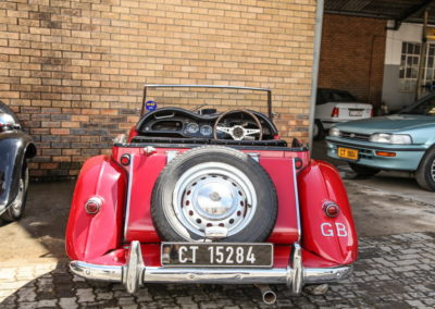 MG TF 1955 Convertible Red AS-4