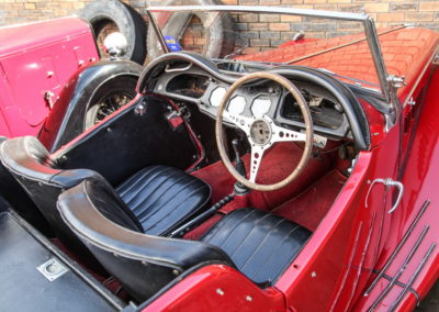 MG TF 1955 Convertible Red AS-5