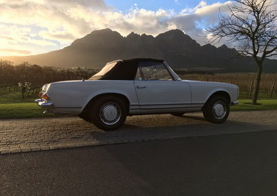 Mercedes 230SL 1964 Cabriolet Cream Black Hood AS 2018-1