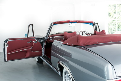 Mercedes 280SE 1970 Convertible Blue or Grey AS-5