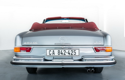 Mercedes 280SE 1970 Convertible Blue or Grey AS-9