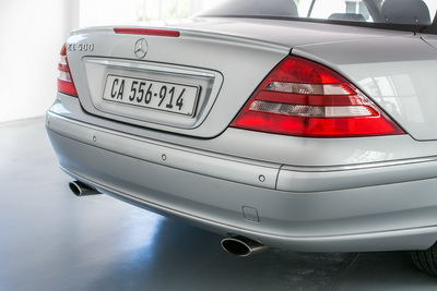Mercedes CL 500 2001 Silver AS 2018-1