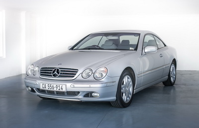 Mercedes CL 500 2001 Silver AS 2018-6