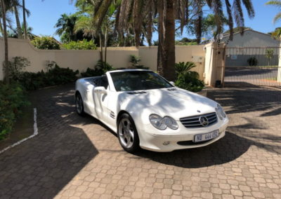 Mercedes SL500 Convertible 2003