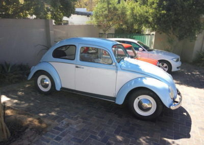 VW Beetle 1962 Light Blue & white AS-1