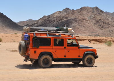 Landrover Defender 1988 Orange AS 2019-3