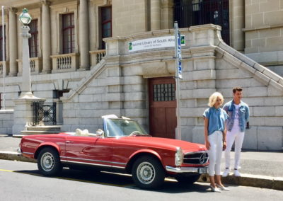 Mercedes 280 SL 1970 Red AS 2019-2