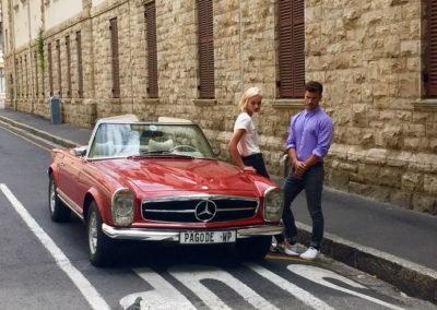 Mercedes 280 SL 1970 Red AS 2019-3