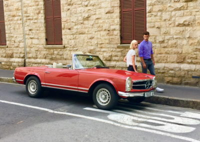 Mercedes 280 SL 1970 Red AS 2019-4