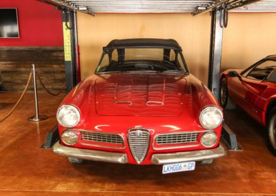 Alfa Spider Touring Convertible