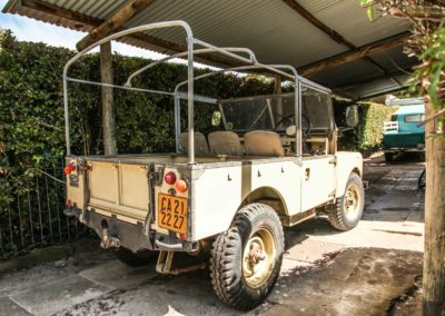 Land Rover 1 1957 Beige AS-006