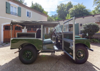 Land Rover Series 1 86inch 1953 Green AS-2_1