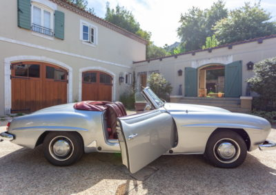 Mercedes Benz 190SL 1957 Silver AS 2019-5