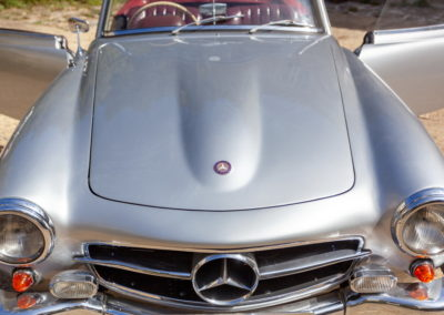 Mercedes Benz 190SL 1957 Silver AS 2019-7